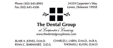 the dental group logo